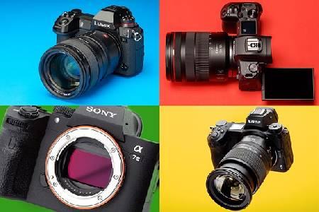 مقایسه دوربین های Mirrorless و DSLR