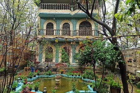 باغ و عمارت استاد زمان (لوکیشن در تهران)