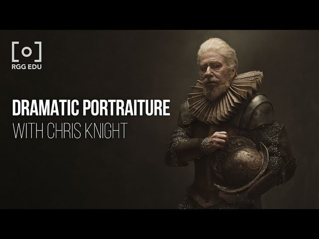 The Dramatic Portrait: The Art of Crafting Light and Shadow by Chris Knight